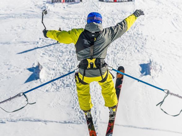 saut à ski tignes